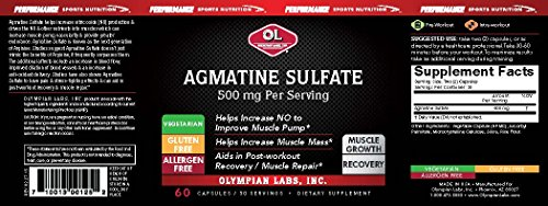Buy Agmatine Sulfate capsules, 60 Count - special discount and free