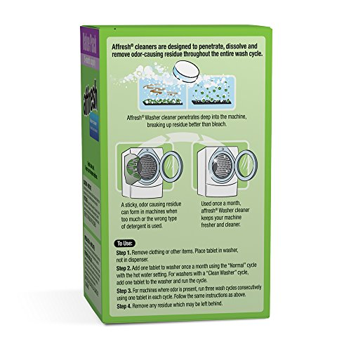 Buy Affresh Washing Machine Cleaner, 5 Tablets - special ...