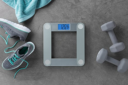 eatsmart precision digital bathroom scale with extra large lighted display - Eatsmart Precision Digital Bathroom Scale