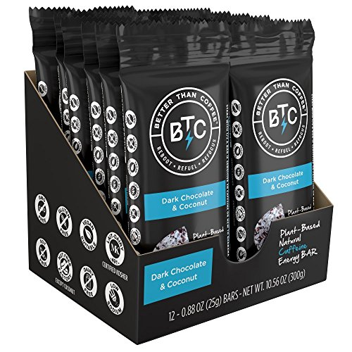 buy better than coffee energy bars 100mg caffeine dark
