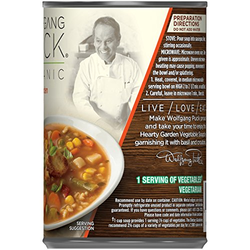 Buy Wolfgang Puck Organic Hearty Garden Vegetable Soup, 14 ...