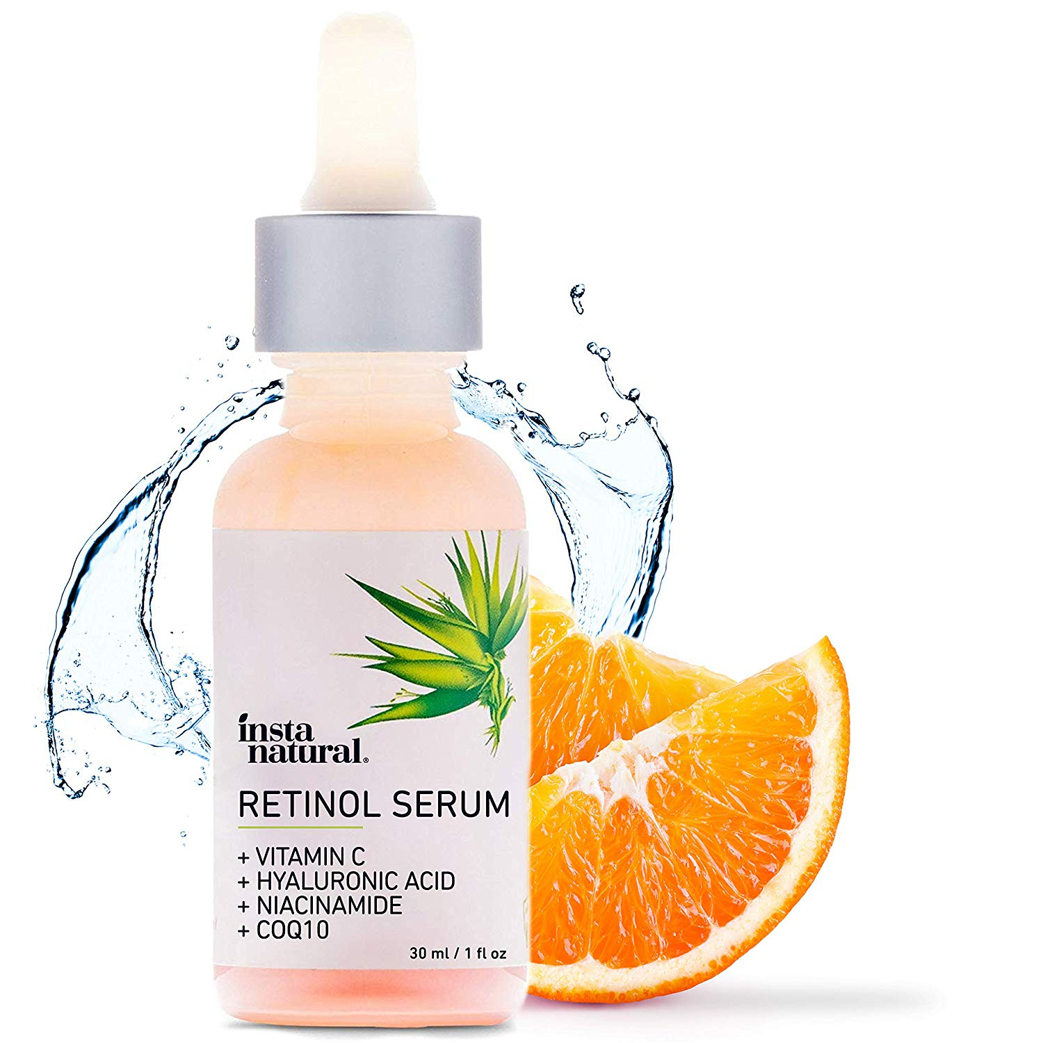 Retinol Serum Vitamin C And Hyaluronic Acid 1 Oz
