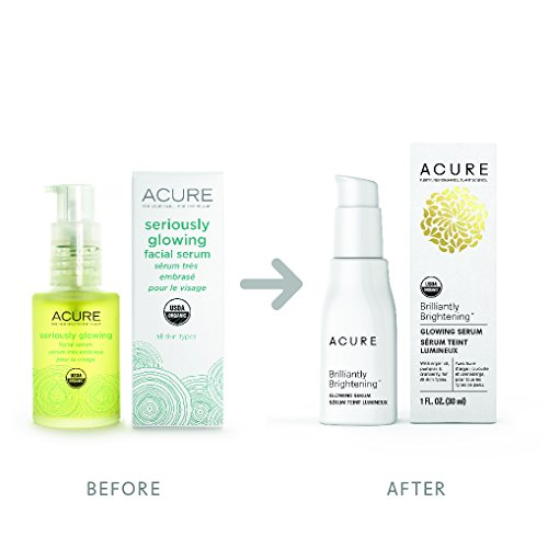 Buy Acure Brilliantly Brightening Glowing Serum, 1 Oz