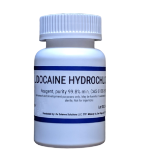 Lidocaine powder