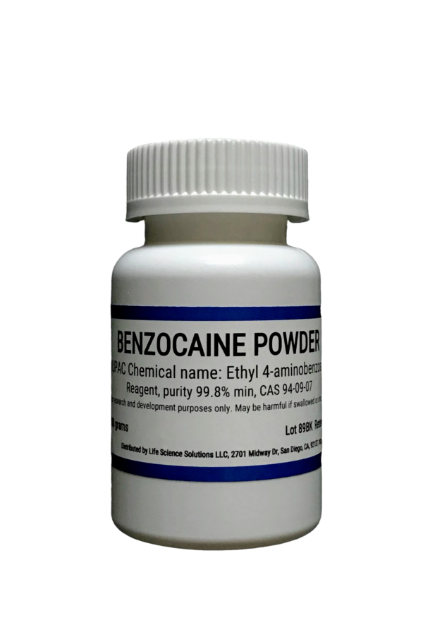 Benzocaine powder